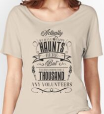 Haunted Mansion-Happy Haunts Women's Relaxed Fit T-Shirt