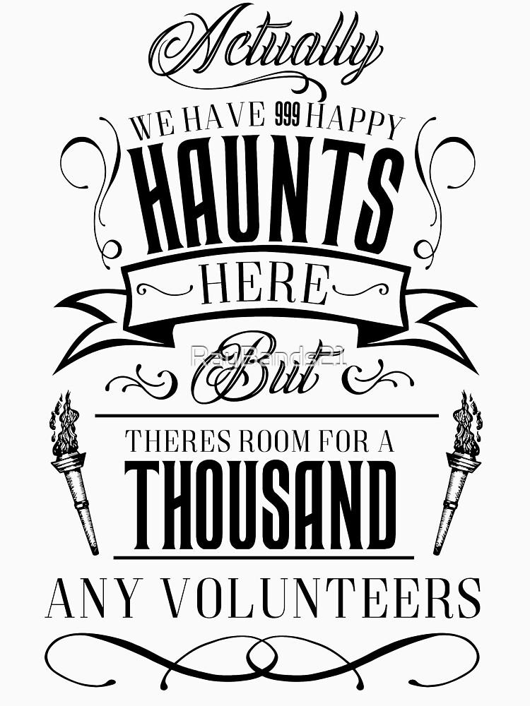 Haunted Mansion-Happy Haunts von RayBands21