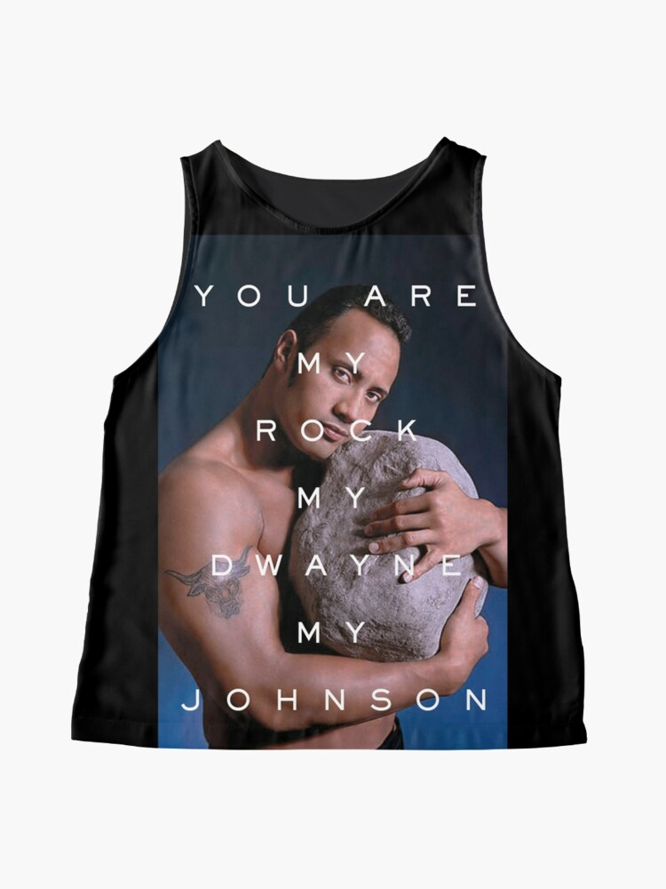 Alternate view of You Are My Rock Sleeveless Top