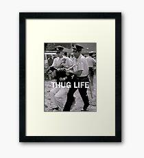 Throwback - Bernie Sanders Framed Print
