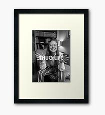Throwback - Hillary Clinton Framed Print