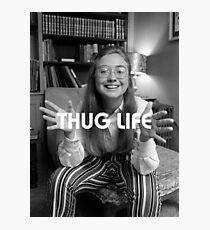 Throwback - Hillary Clinton Photographic Print