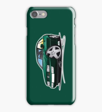 VW Corrado Green iPhone Case/Skin