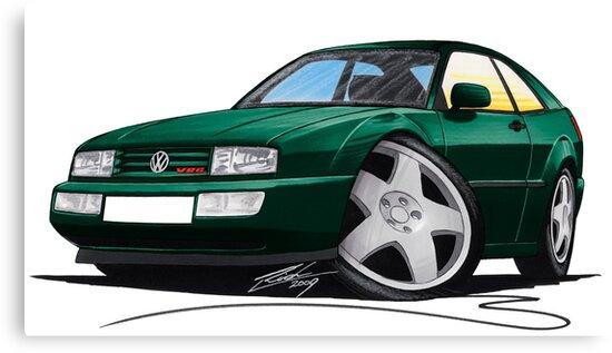 VW Corrado Green by yeomanscarart