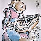 Renaissance band Guinea Pig by Byron  McBride