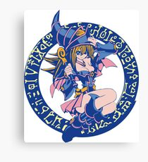 Dark Magician Girl Canvas Print