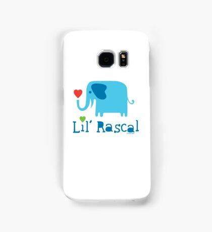 Elephant Lil Rascal blue Samsung Galaxy Case/Skin