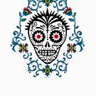 Sugar Skull Voodoo by Andi Bird