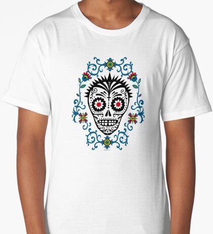 Sugar Skull Voodoo Long T-Shirt