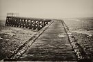 Old Pier in the Fog by cclaude