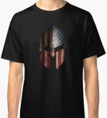 American Spartan Warrior Helmet Classic T-Shirt