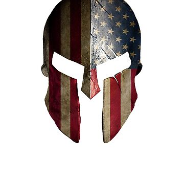 American Spartan Warrior Helmet by Irregulariteez