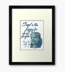 Sally Sparrow Framed Print