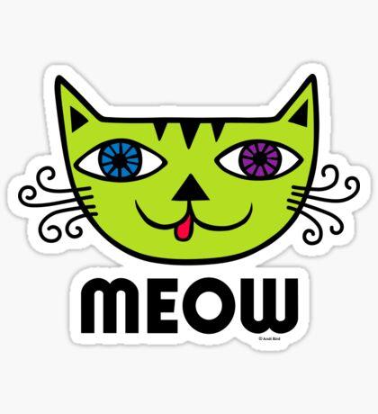 Meow Cat multi Sticker