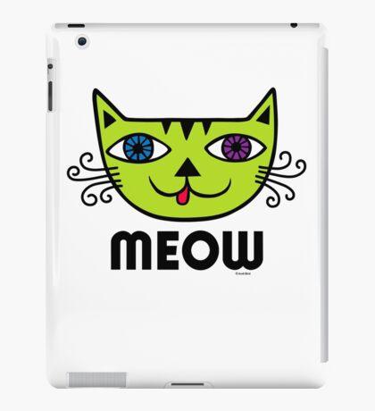 Meow Cat multi iPad Case/Skin