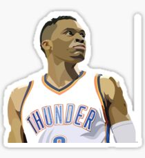 Russel Westbrook Sticker