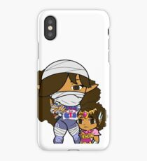 The Protector and the Jewel iPhone Case/Skin