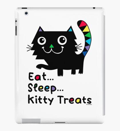 Eat, Sleep, Kitty Treats  iPad Case/Skin