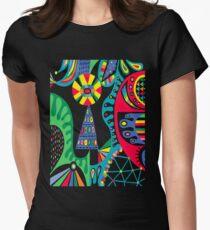 Mojo black Women's Fitted T-Shirt
