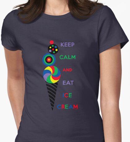 Keep Calm and Eat Ice Cream 2.2 T-Shirt