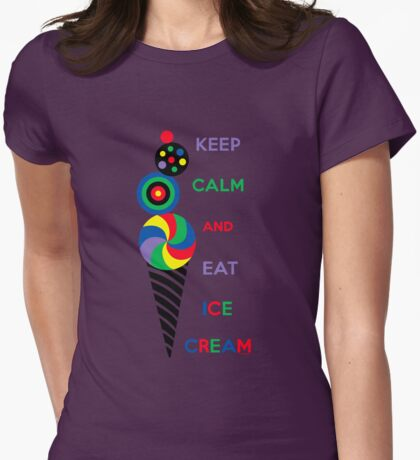 Keep Calm and Eat Ice Cream 2.2 T-Shirt