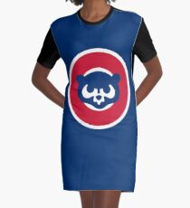 Chicago Cubs  Graphic T-Shirt Dress
