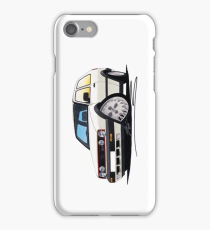VW Golf GTi (Mk2) White iPhone Case/Skin