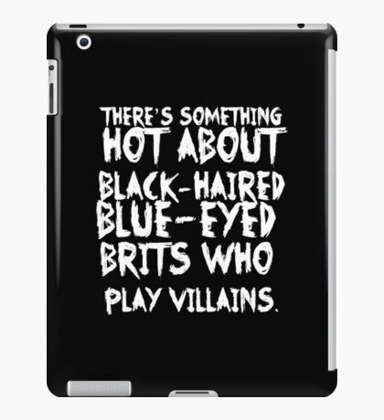 British Villains II iPad Case/Skin