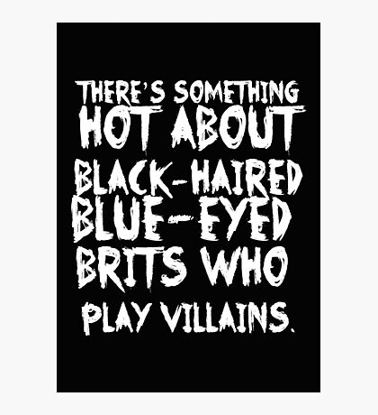 British Villains II Photographic Print