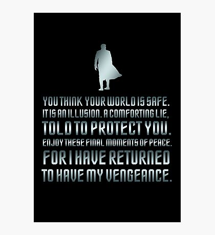 Star Trek Into Darkness Photographic Print