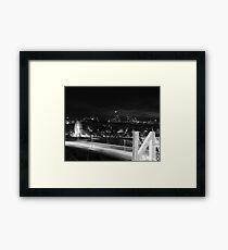 N City Framed Print