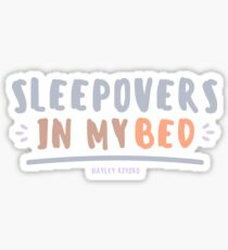 sleepover Sticker