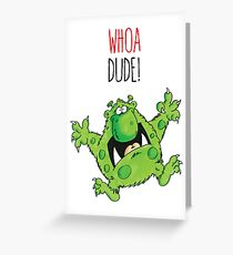 Dave the Dude Greeting Card
