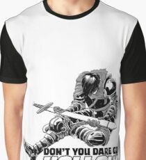 Don't You Dare Go Hollow Graphic T-Shirt