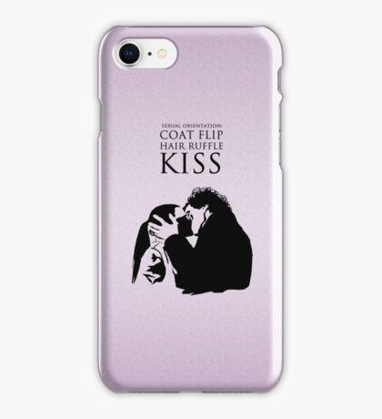 Sherlock and Molly Kiss iPhone Case/Skin