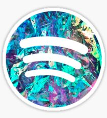 Spotify Logo - Holographic Sticker
