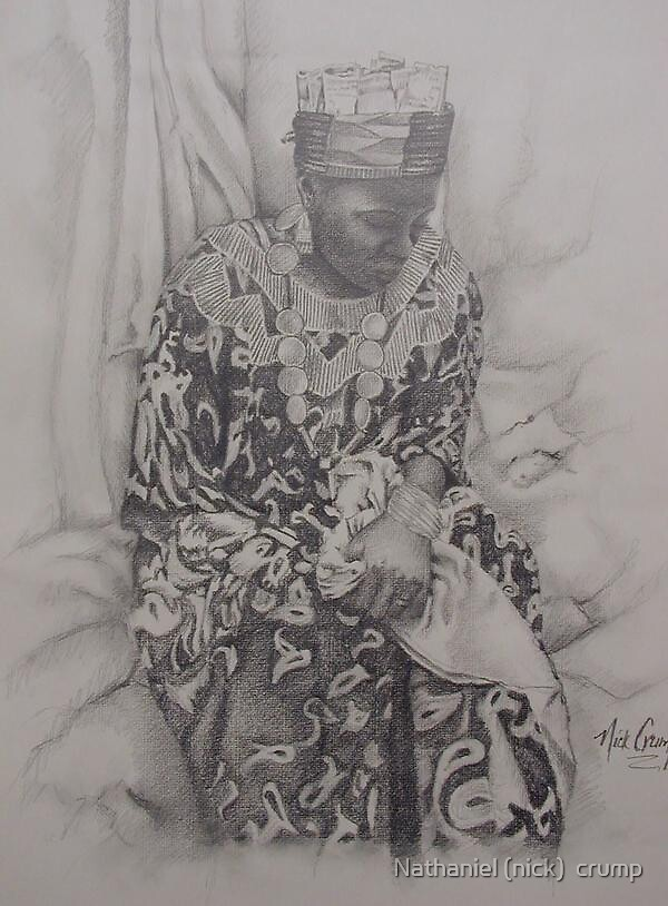"""""""African queen"""" by Nathaniel (nick)  crump"""
