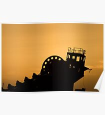 Dredge Control Tower Poster