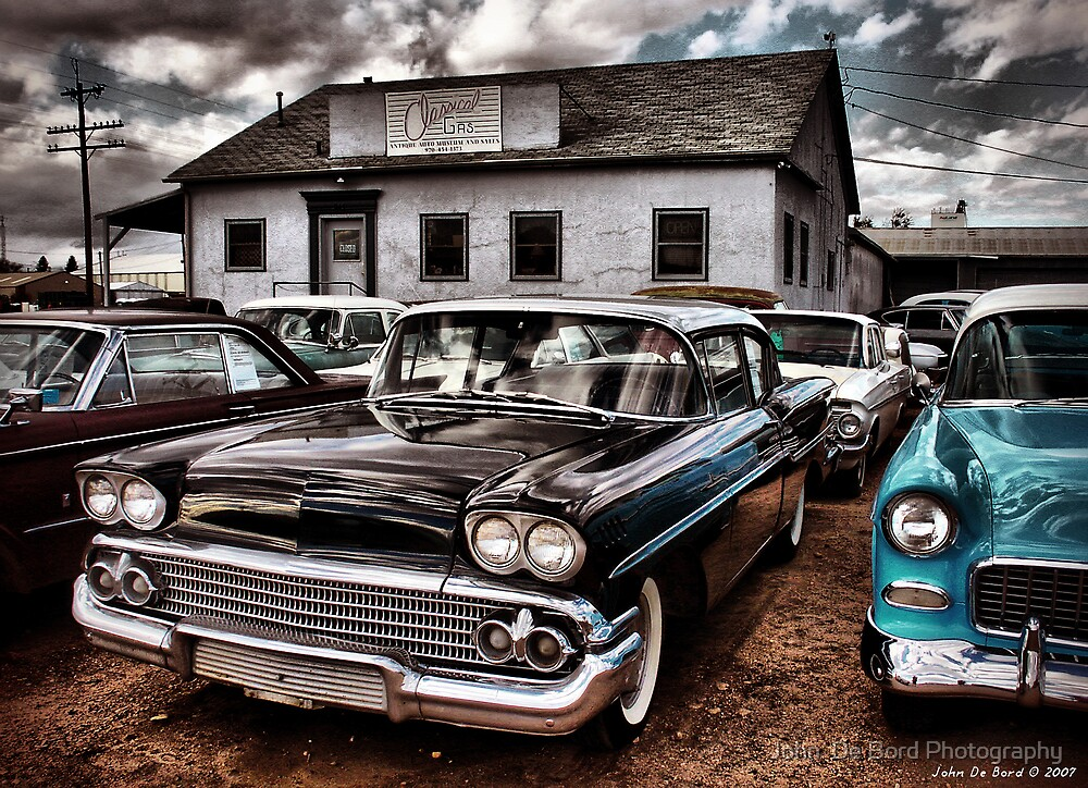 Nothing But Sky and Chevy's 2 by John  De Bord Photography