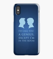 I'd Call You A Genius II iPhone Case