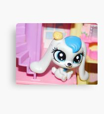Littlest Pet Shop Bunny Canvas Print