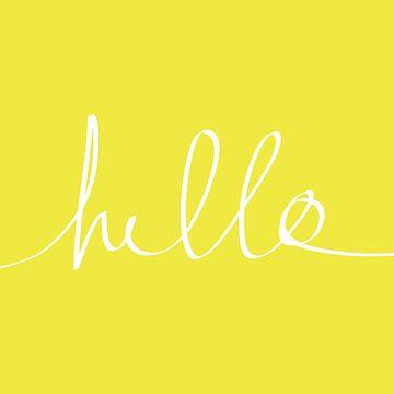 Hello x Sunshine by adventurlings