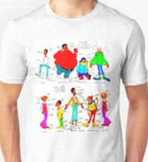 FAT ALBERT CHARACTERS Unisex T-Shirt