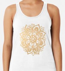 Gold Mandala Women's Tank Top