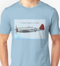 P-47 Thunderbolt, 332nd FG Unisex T-Shirt