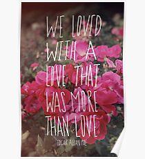Poe: Love Poster