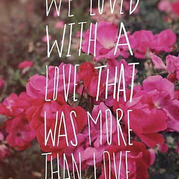 Poe: Love by adventurlings