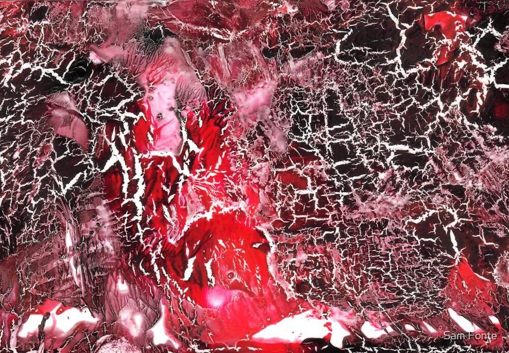 Intense Magenta World # 2 by Sam Fonte