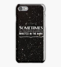 Whistling in the Dark iPhone Case/Skin