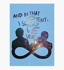 I Swear We Were Infinite II Photographic Print